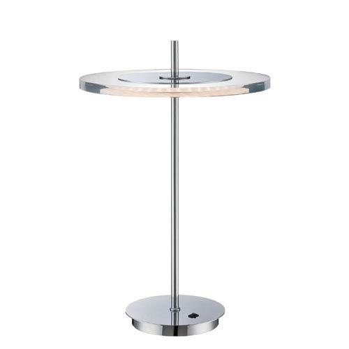 Lite Source Otoniel Chrome LED Table Lamp