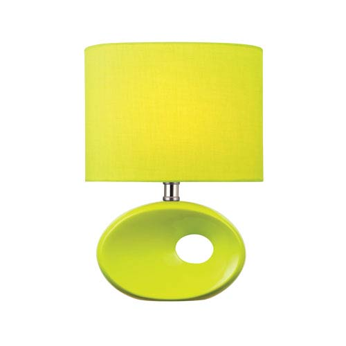 Lite Source Hennessy II Green One-Light Table Lamp