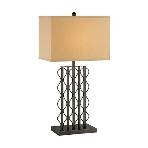 Lite Source Rexford Dark Bronze One-Light Fluorescent Table Lamp