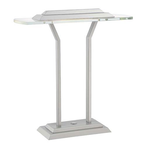 Lite Source Slate Silver LED Table Lamp