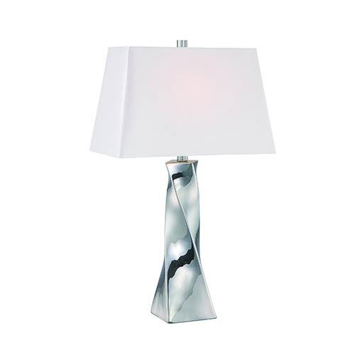 Twila Chrome One-Light Fluorescent Table Lamp