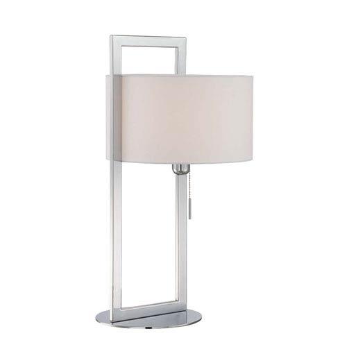 Lucetta Chrome One-Light Table Lamp