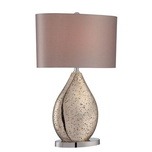 Mandalay Gold Mirror One-Light Table Lamp
