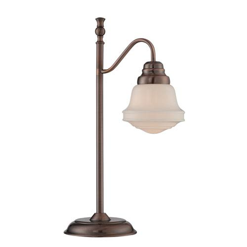 Towne Antique Copper 23-Inch One-Light Table Lamp
