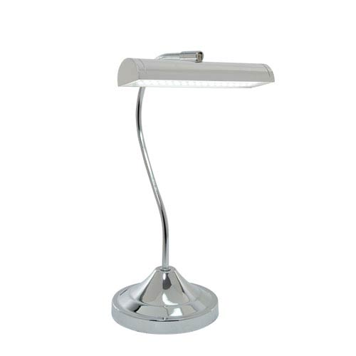 Cady Chrome One-Light LED Desk Lamp