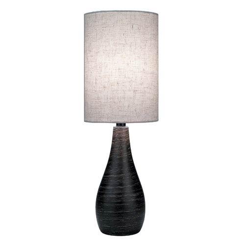 Lite Source Quatro Dark Bronze One-Light Table Lamp