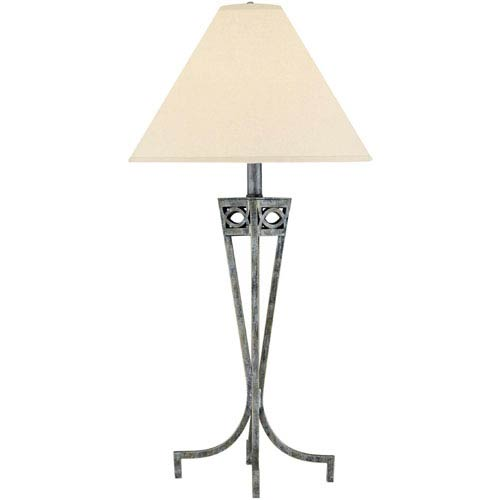 Tessuto Pewter Table Lamp