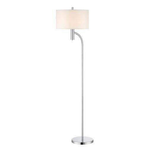 Lite Source Chantay Chrome One-Light Floor Lamp