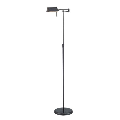 Lite Source Pharma Dark Bronze One-Light Floor Lamp