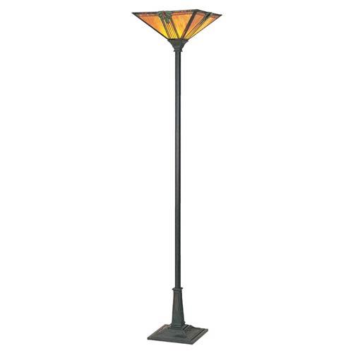 Maple Jewel Torchiere Floor Lamp