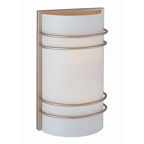 Strokes Satin Steel Two-Light Wall Sconce