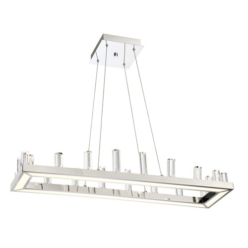 Elina Chrome LED Linear Pendant