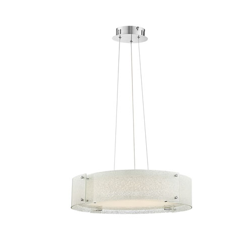 Lite Source Kaelin Chrome LED Pendant