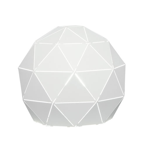 Pandora White One-Light Table Lamp