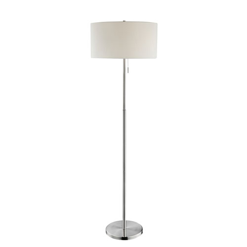 Lite source tomi brushed nickel two light floor lamp ls 83158 bellacor lite source tomi brushed nickel two light floor lamp aloadofball Gallery