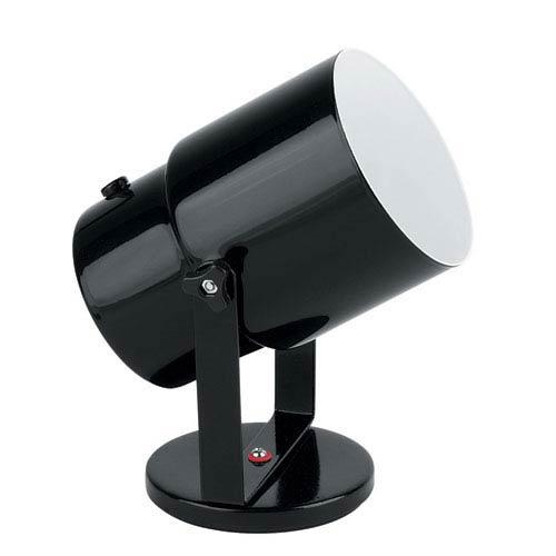 Lite Source Pin-up Black One-Light Directional Spot Light Wall Lamp