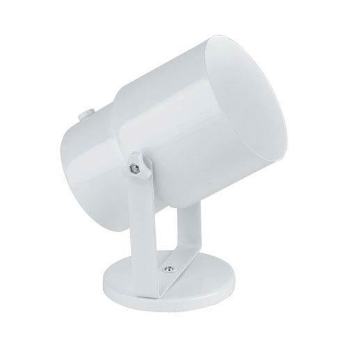 Pin-up White One-Light Directional Spot Light Wall Lamp