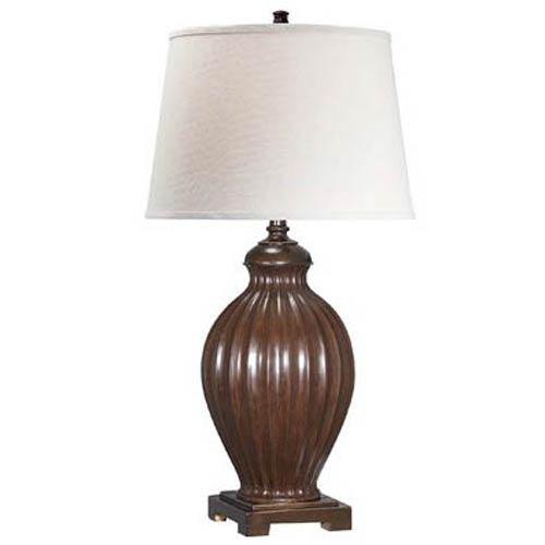 Lite Source Colletta Two Tone Fluorescent Table Lamp