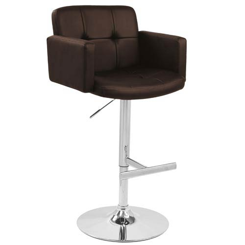 Stout Brown Barstool