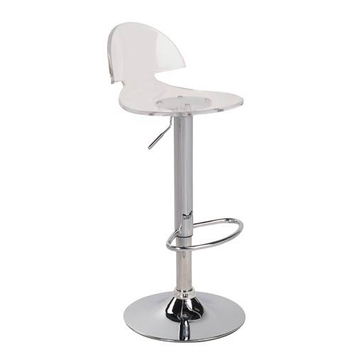 LumiSource Venti Acrylic Barstool