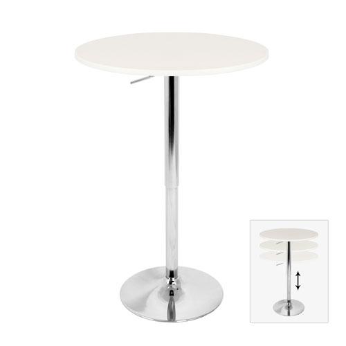 Elia White Bar Table