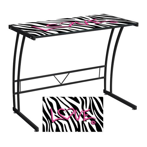 LumiSource Zebra Love Expression Collection Sigma Desk