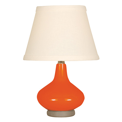Coral One-Light Ceramic Mini Table Lamp