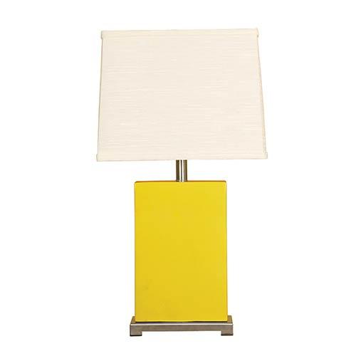 Mimosa One-Light Ceramic Block Table Lamp
