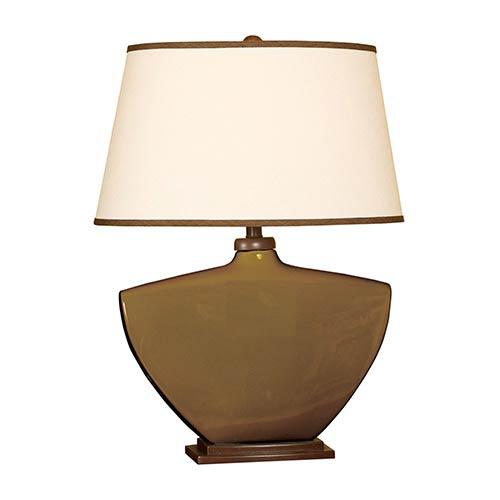 Espresso One-Light Ceramic Table Lamp