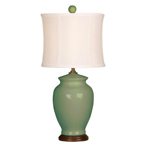 Mario Industries Splash Moss One-Light 18-Inch Table Lamp