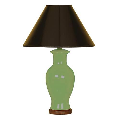 Moss One-Light Ceramic Vase Table Lamp