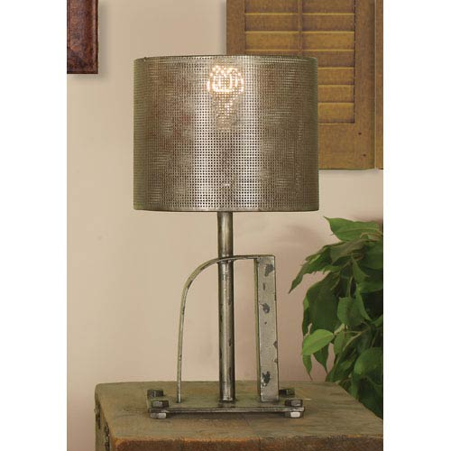 Arch Lamp with Vintage Edison Bulb