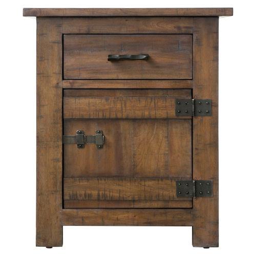 Hudson Dark Antique Bronze 24-Inch Side Table