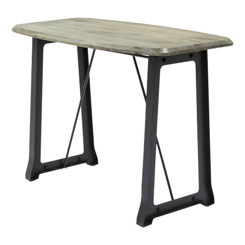 Austen Washed Acacia 59-Inch Pub Table