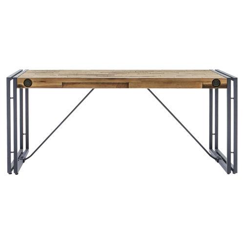 Austen Natural Steel Grey 43-Inch Coffee Table