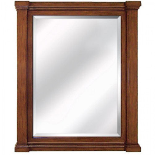 Accent Brown 32-Inch Wall Mirror