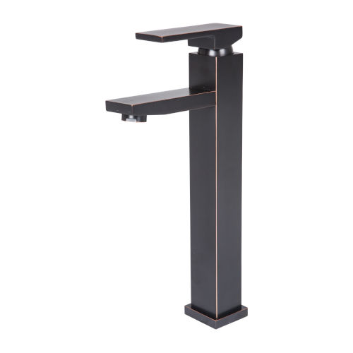 Oil Rubbed Bronze Five-Inch ADA Single Handle Lavatory Faucet