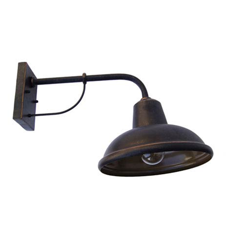 One-Light Wall Sconce in Oil Rubbed Bronze Finish