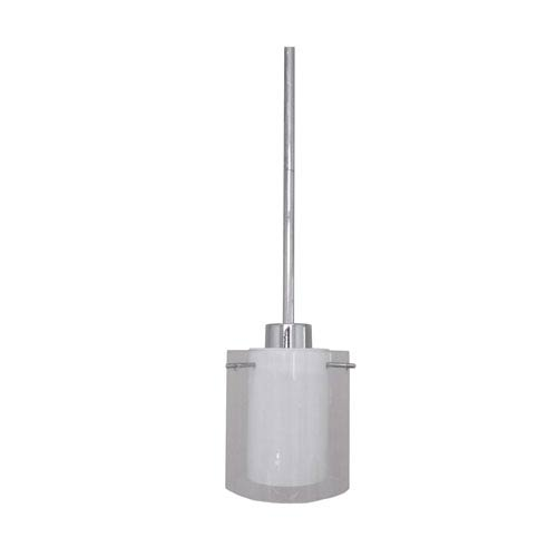 Meadow Ridge Chrome One-Light Mini Pendant