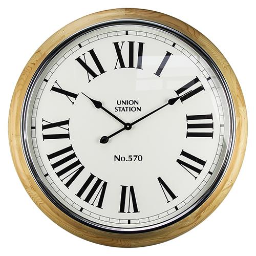 Union Station II Wall Clock