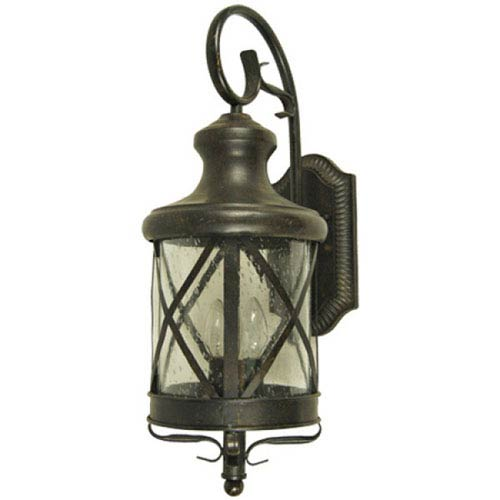 Lorenza Two-Light Oil Rubbed Bronze Small Exterior Light