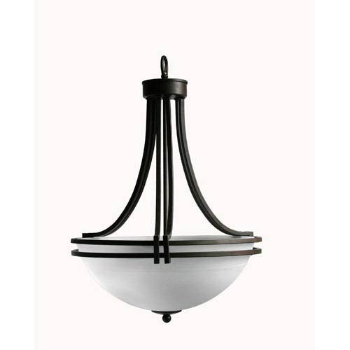 Sequoia Dark Brown Three-Light Foyer Pendant