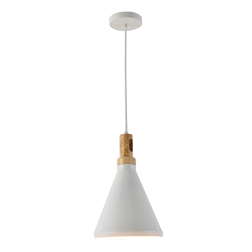 Blanc White One-Light Mini Pendant