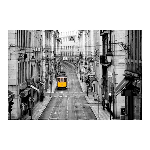 Lisbon Yellow Tram I Print