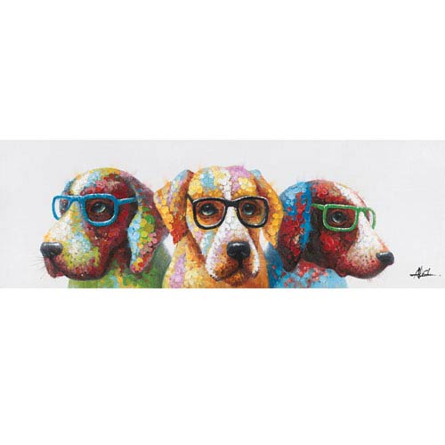 Cool Dogs Canvas