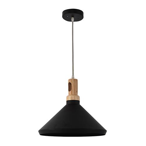 Noir Black One-Light Pendant