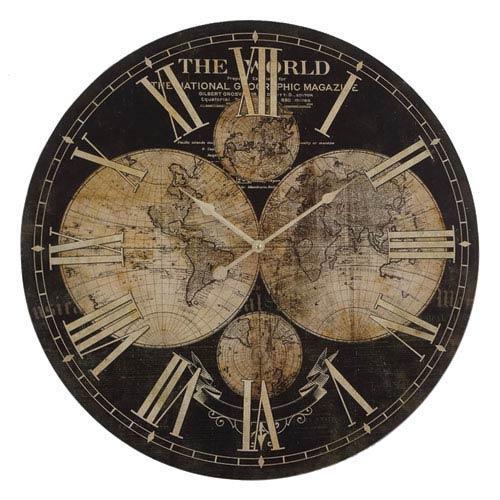 Ancient Guide Wall Clock
