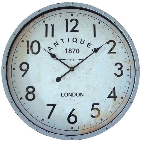 Antique 1870 Wall Clock