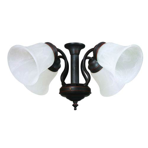 Four Light Kit for Queenie 2 in Oil Rubbed Bronze