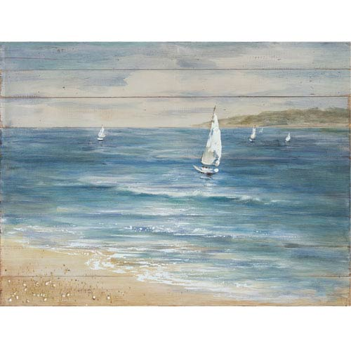 Sailboat Serenity Wood Wall Art